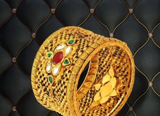 22k Gold Kada Bangle from Josalukkas