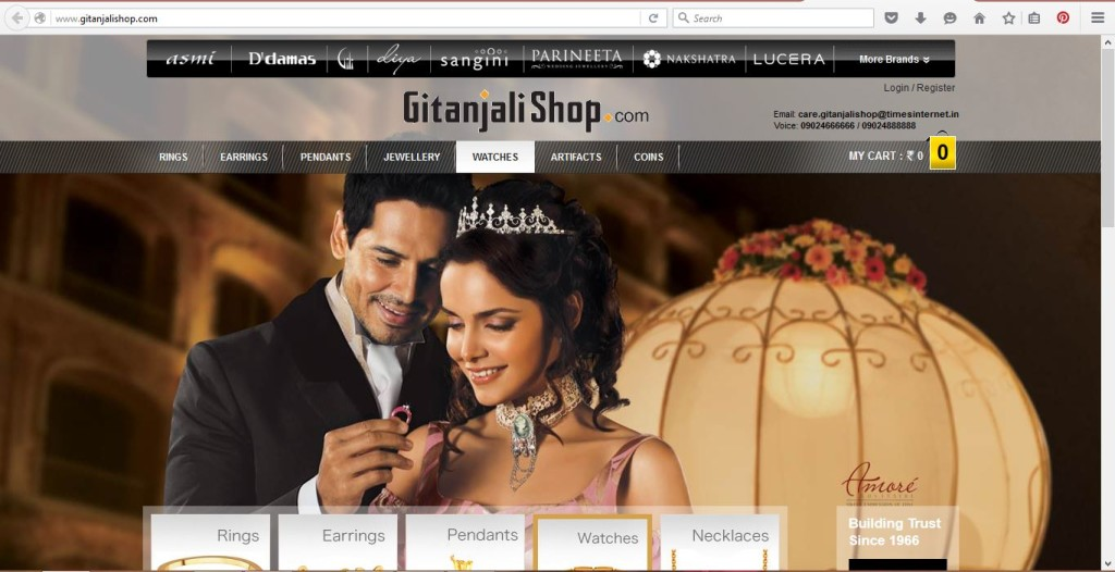 Gold Jewellery Online Store India Gitanjali