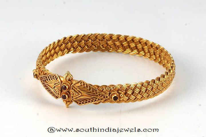 Gol Antique Kada Bangle from Amarsons
