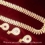 Gold Plated Necklace Set From Swarnakshi