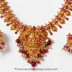 22K Gold Temple Necklace From PNG Adgil Jewellers