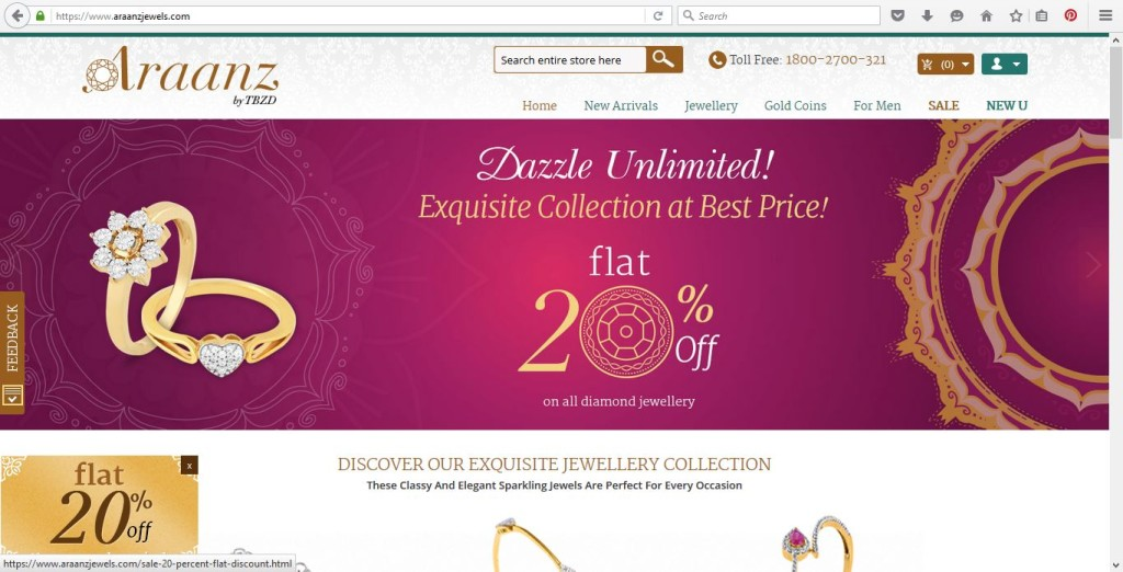 India-gold-jewellery-shopping-online-araanz