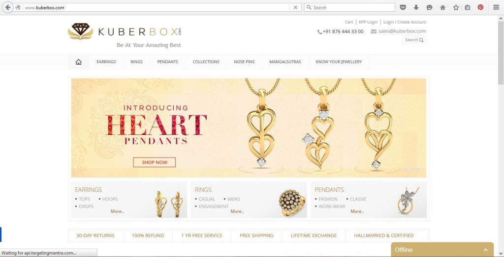 India Gold Jewellery Online Kuberbox
