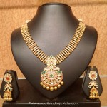 Light Weight Attigai Necklace With Jhumka