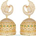 One Gram Gold Stone Jhumki