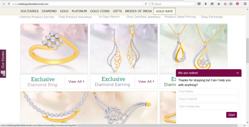 Online Jewellery Store India Malabar Gold And Diamonds