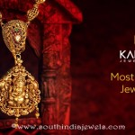 Gold Antique Jewellery Necklace From Kalyan