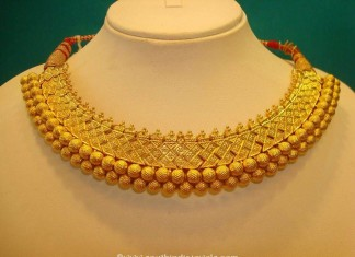 120 grams grand gold choker necklace