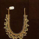 88 Grams Gold Guttapusalu Necklace