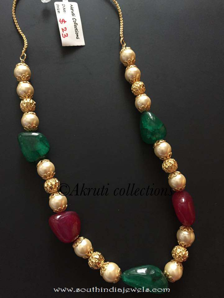 beads set jewellery necklace no model designer