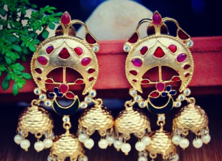 Trendy Designer Jhumka from Orne Jewels