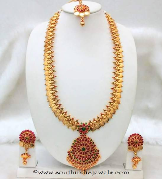light weight imitation bridal necklace set from Tejus collections