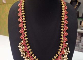 Imitation Antique Ruby Jewellery Set