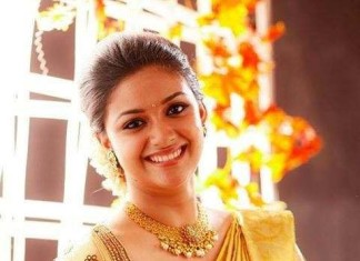 Keerthi suresh celebrity Jewellery