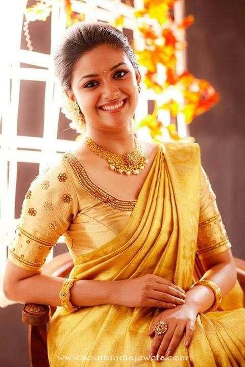 Keerthi suresh celebrity Jewellery