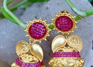 Latest model imitation jhumka from orne jewels