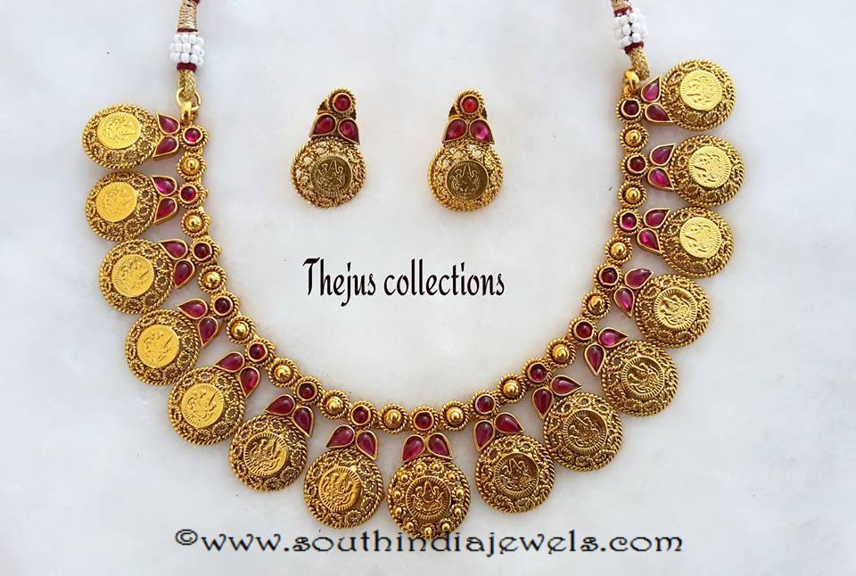 Antique Ruby Kasumalai Designs from Tejus Collections