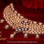 Kalyan Jeweller's Gold Polki Necklace