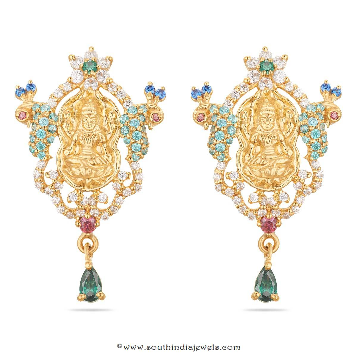 indian islamic antique baali chand buy stud unique online gold jewelry of kundan and grams beautiful earrings