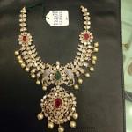 22K Gold Polki Pachi Necklace