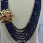 Beaded Necklace with Side Locket from Etash Diamond