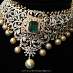 Diamond Choker Necklace from Ishwarya Diamonds