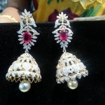 Diamond Jhumka From Puchala Pearls
