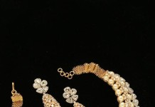 Diamond Necklace from Tibarumals Jewellers