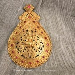 Gold Antique Pendant from Sayar Jewellery