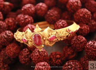 Gold Ruby Bracelet from Sayar Jewellery