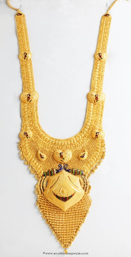 Gold Bridal Haram From Senthil Murugan Jewellers