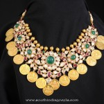 Gold Coin Necklace from Tibarumals Jewellers