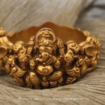 Gold Ganesh Bangle from Sayar Jewellery