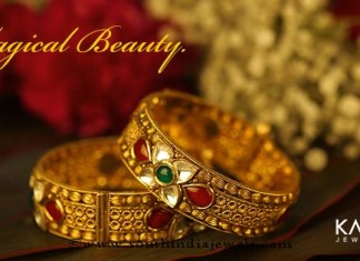 Gold Kundan Bangle From Kalyan