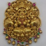 Gold Lakshmi Pendant From Vijay Jewellers