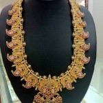 Gold Kundan Mango Mala from Anagha Jewellery