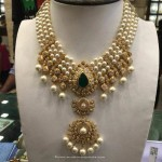 Gold Pearl Necklace from Anagha Jewellery