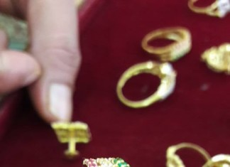 Gold Rings from Dhanlaxmi Jewellers
