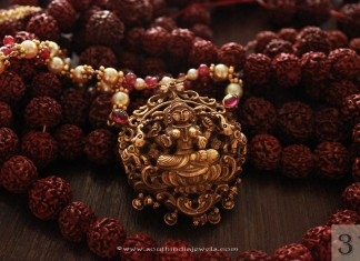 Gold Temple Necklace from Sayar Jewellery