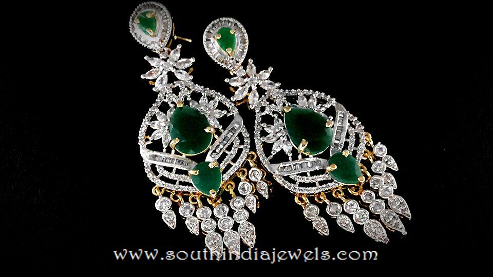 Imitaion AD Earrings from Chaahat
