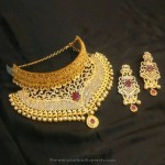 1 Gram Gold Choker from Brundavan Jewellery