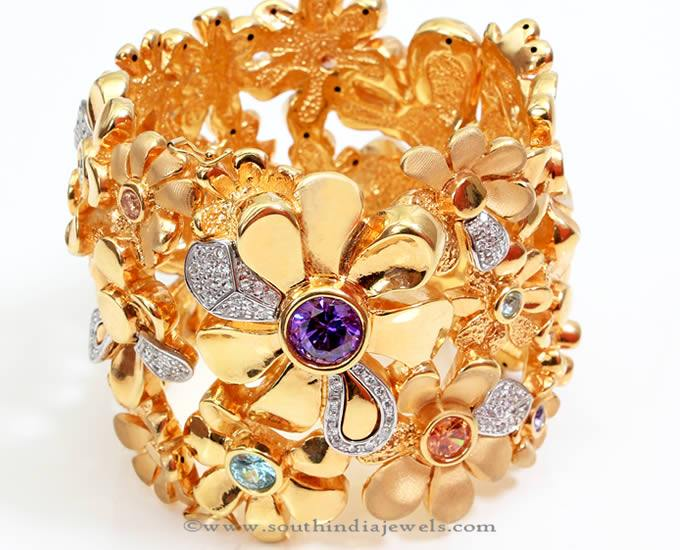 18K Gold Designer Bracelet from PNG Adgil Jewellers