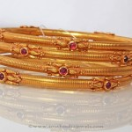 Gold Antique Bangle Sets from PNG Adgil Jewellers