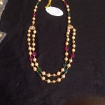Gold Pearl Necklace Chain Design