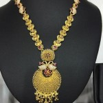 Gold Uncut Ruby Necklace From Navkar Gold World
