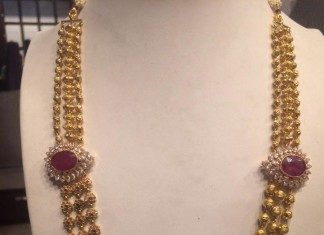 Gold Haram Jewellery Designs from PSJ