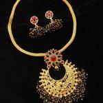 Imitation Black Color Necklace Set