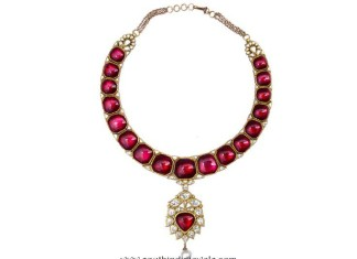 Gold Kundan Necklace from Karni Jewellers