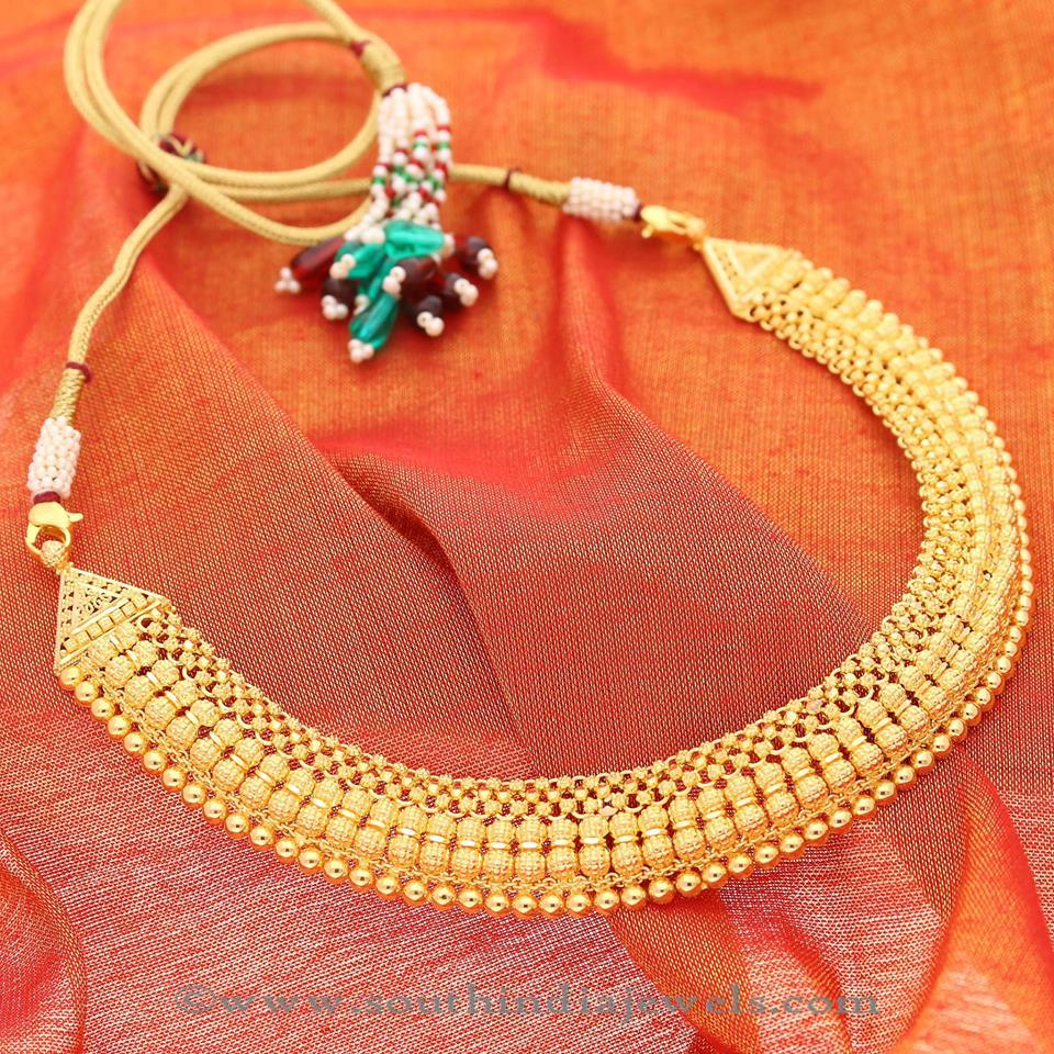 Latest Model Gold Necklace 2016