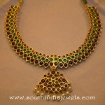 Temple Jewellery Necklace from Kumaran Ganesh